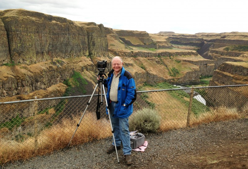 RAND at PALOUSE FALLS 2013